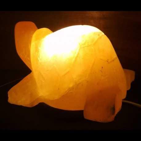 Solná lampa - želva