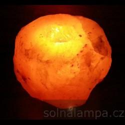 Solná lampa na svíčku 1,2 - 1,5 kg