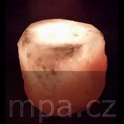 Solná lampa na svíčku 1,0 - 1,5 kg