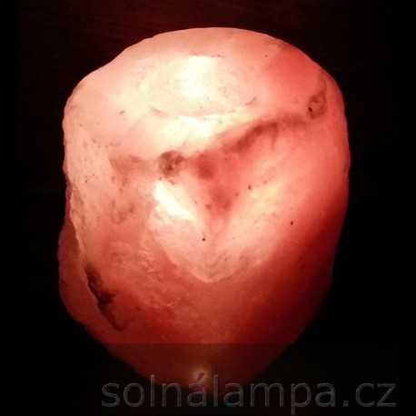 Solná lampa na svíčku 1,5 - 2,0 kg