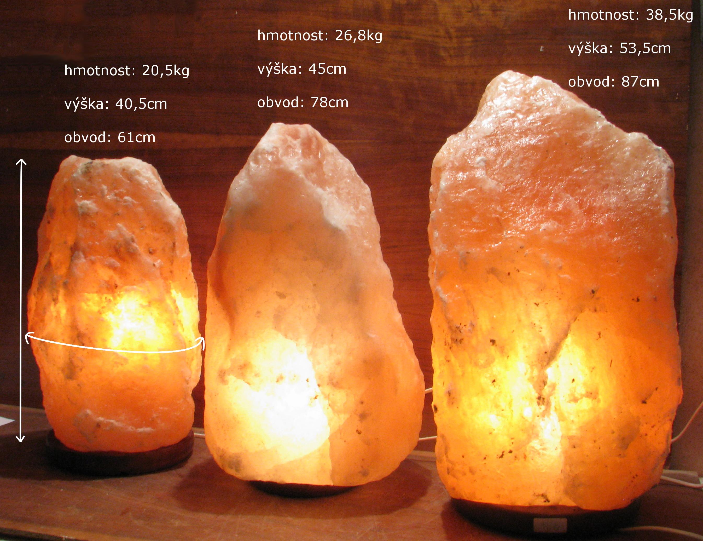 popis velkých lamp